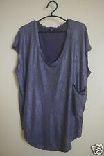GAP SHEEN  DOLMAN SLEEVE WITH OVERSIZED CHEST POCKET TOP TAG SIZE XS