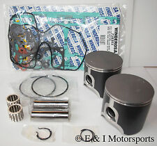 2004-2005 SKI-DOO REV 600 HO *SPI PISTONS,BEARINGS,TOP END GASKET KIT* 72mm BORE