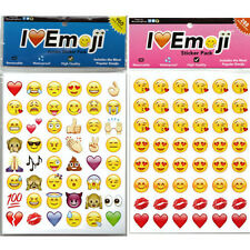 48-Emotion Emoji Smile Face Sticker Android IPhone Laptop Decor Stickers Gift GB