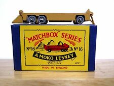 Matchbox Lesney No.16a Transporter Trailer In Type B2 MOKO Box (VN MINT SUPERB!)