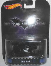 1/64 Hot Wheels Retro K Case The Dark Night Rises THE BAT
