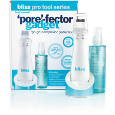 BLISS Pore-Fector dual-action skincare sonic waves device, NEW in Box *UK Plug*