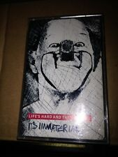 IT'S IMMATERIAL - LIFE'S HARD AND THEN YOU DIE (ORIGINAL 1986 Cassette)