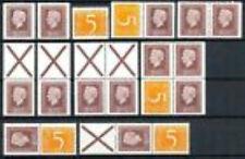 Nederland alle combinaties  uit  postzegelboekje 17  postfris/MNH
