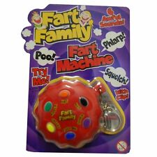 Fart Button Keyring farting novelty joke gift, Xmas secret Santa TY6410