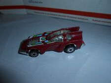 RARE VTG 1981 KENNER FAST 111's TURBO TURRET DIECAST CAR NEW MEXICO PLATE MACAO