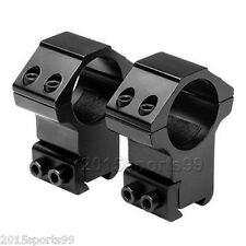 """2x Scope Rings 1""""  For 22 cal /Rifle High Profile 3/8 Inch Dovetail Mount Set #3"""