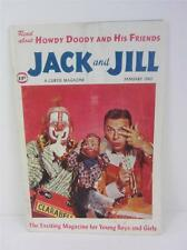 Jack and Jill January 1960 Magazine Howdy Doody Clarabelle Flub-A-Dub Buffalo