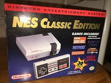 Nintendo NES Classic Edition Mini Console System 30 Games - BRAND NEW! Rare!