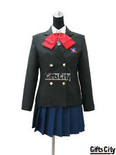 Another Mei Misaki Winter Unifrom Cosplay Costume (Coat+Shirt+Skirt+Eyemask)