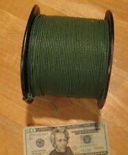 900 + FEET WESTERN ELECTRIC NOS NEW VINTAGE WIRE CLOTH 20 GA SILVER STRAND* RARE