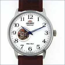 Orient Esteem 21-Jewel Automatic Watch w/Open-Heart Dial, 42.5mm Case #DB08005W