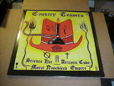 LP:  COUNTRY TEASERS - Science Hat Artistic Cube Nosebleed Empire 2xLP NEW