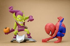 Marvel Deformation Figure -- Spiderman & Green Goblin PVC