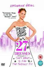 27 DRESSES Katherine Heigl*James Marsden*Edward Burns Romantic Comedy DVD *EXC*