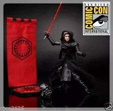 HASBRO COMIC CON STAR WARS KYLO REN 2016 SDCC EXCLUSIVE BLACK SERIES FIGURE