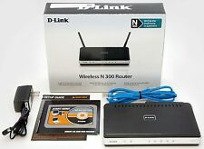 NEW D-Link DIR-615 Wireless-N 300 Wifi Router 4 Port 10/100 Networking N300 unit