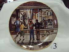 HARLEY DAVIDSON NOS COLLECTIBLE 1989 LIMITED EDITION CHRISTMAS PLATE