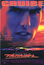 DAYS OF THUNDER ORIGINAL 27x40 MOVIE POSTER