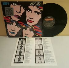 Kiss Asylum LP 1985 Mercury Records 826-099-1 (EX Vinyl) Hype Shrink Sterling