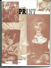 Print The Magazine of the Graphic Arts Volume VII, Number 2