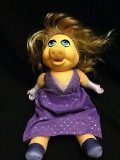 Miss Piggy Dress Up Doll Plush Muppets Vintage Fisher Price 890