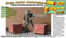 Palleted Bricks/Cinder Blocks-Md(2pcs-LabStone)Scale Model Masterpieces On3/1:48