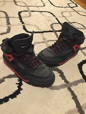 Nike Air Jordan Winterized Spiz'Ike Boot Dark Shadow Black Red Sz 5