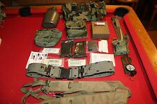 SURVIVAL MILITARY GEAR KIT COMPASS KNIFE BELT POUCH FIRST AID BUTT PACK EDC HIKE