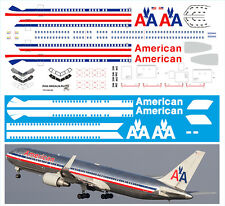 1/144 laser decal Boeing 767-300 American AA