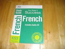 LETTS KEY STAGE 3 FRENCH SUCCESS STUDY GUIDE KS3 TEST QUESTIONS ANSWERS AUDIO CD