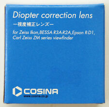 GENUINE Cosina Diopter Correction Lens +3 for Zeiss Ikon, BESSA R3A-R2A, R-D1