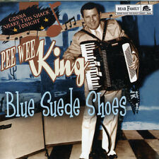 Blue Suede Shoes-Gonna Shake This Shack Tonight - Pee Wee King (2006, CD NEUF)
