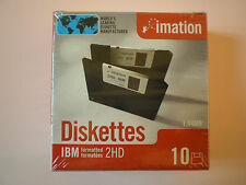 """10x Imation Disketten 3,5"""" Floppy Disk HD-MF2 1,44 MB DOS-formatiert Diskettes"""