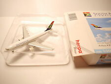 Airbus A300-B2 SOUTH AFRICAN AIRWAYS / ZS-SDA, Herpa in 1:500 boxed