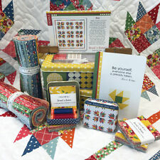 Moda BREAD 'N BUTTER American Jane FRIVOL Collector Tin Pattern Quilt Kit 1930