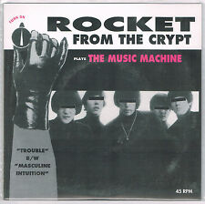 "ROCKET FROM THE CRYPT 'Plays Music Machine 7"" New Hot Snakes murder city devils"