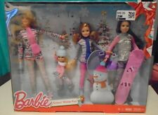 NEW Mattel Barbie - Sisters Winter Holiday Fun Holiday Exclusive Dolls