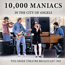 10000 MANIACS w NATALIE MERCHANT New Sealed 2017 UNRELEASED LIVE 1993 CONCERT CD