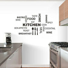 Kitchen Quote Wall Decor Decoration Home Art Vinyl Removable Kitchen Wall Decal