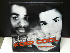 "MAXI 12"" KEEP COOL Je vais sortir ce soir Remixes DAN6696448"