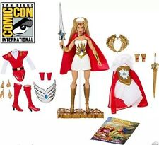 2016 SDCC SHE-RA FIGURE MOTU MATTEL HE-MAN AND THE MASTERS OF THE UNIVERSE DOLL!