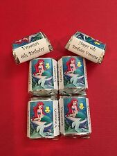 30 Little Mermaid Birthday Candy Bar Wrappers Favors