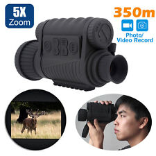 Professional IR Infrared Digital Night Vision Monocular HD Video Camera Photo DV