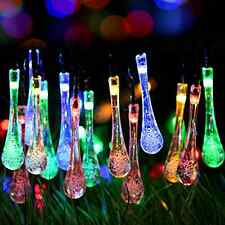 Solar Outdoor String Lights Waterproof Deck Patio Backyard Pool Decoration Decor