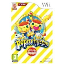 POP N RHYTHM=NINTENDO Wii=DANCE=PARTY GAME=OVER 120 TRACKS=AGE 3+=4 X PLAYER