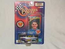 JEFF GORDON 1999 WINNERS CIRCLE SUPERMAN RACE CAR  5 OF 8 LIFETIME SERIES