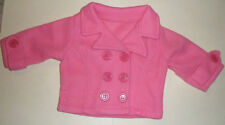 NIP pink pea jacket fits American Girl doll and similar-sized dolls