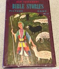 OLD TESTAMENT BIBLE STORIES PICTURE GAME