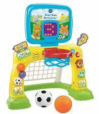 NEW VTech Smart Shots Sports Center, 2-in-1 kids basketball hoop for Toddlers
